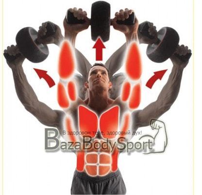 Упражнения для мышц пресса