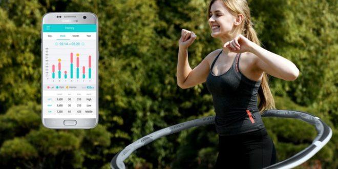 VHOOP – умный и интерактивный хулахуп